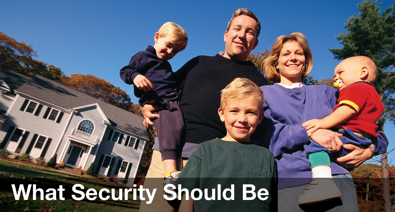 What Security Should Be