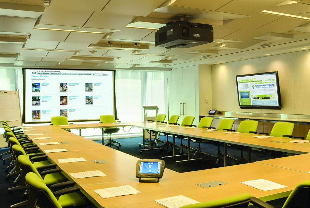 commercial security conference room
