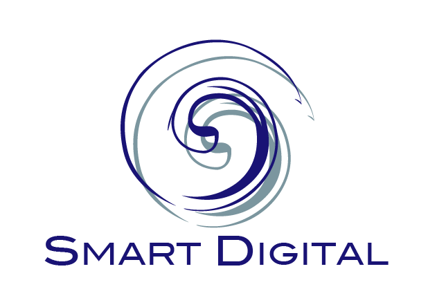 smart digital home and commercial security logo