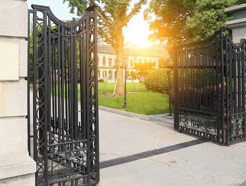 Mansfield driveway gate installation company ohio